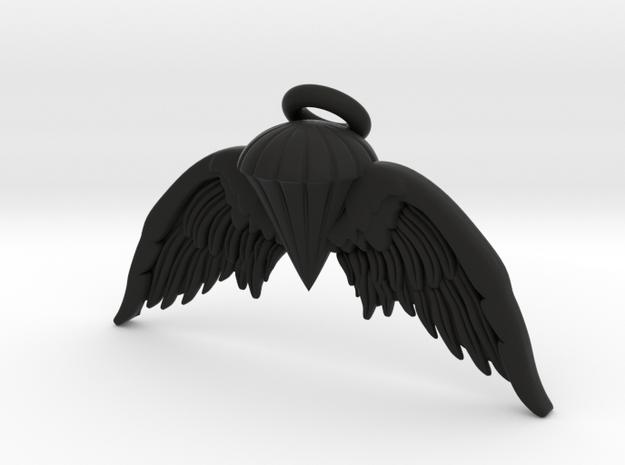 Navy Jump Angel Wings 3d printed