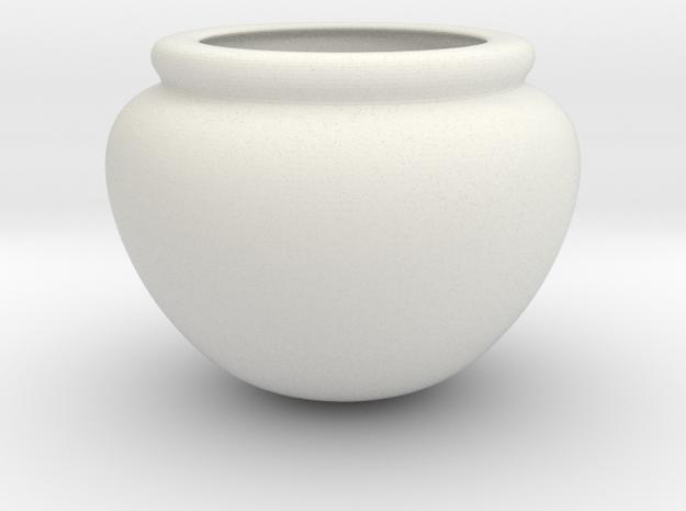Greek Vase - Dinos in White Natural Versatile Plastic