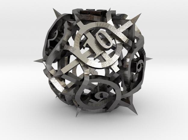 Thorn Die12 Ornament 3d printed