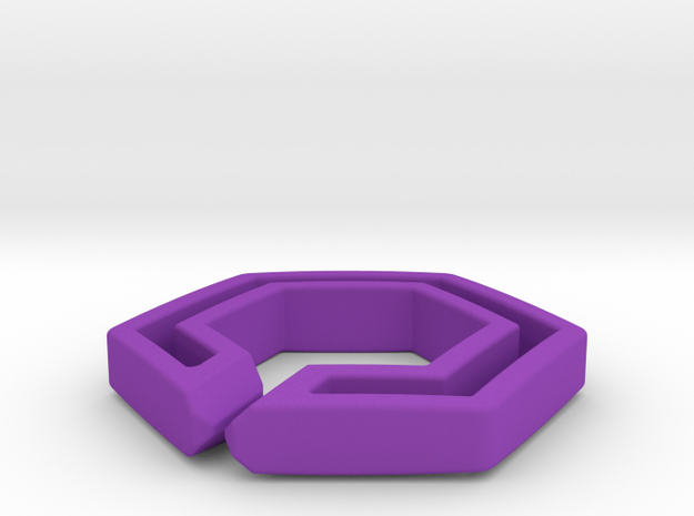 hex chain 3d printed