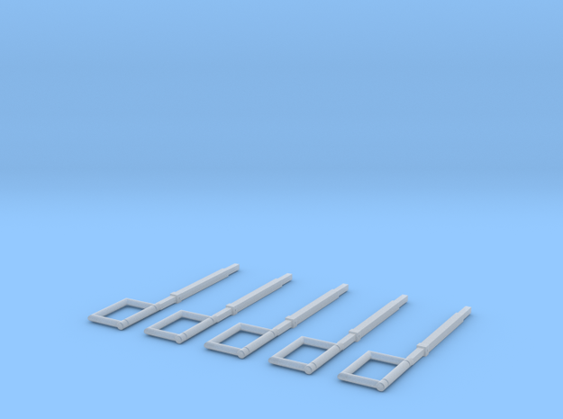 Schlauchführung für das HFS System (Eingeschoben)  in Smooth Fine Detail Plastic