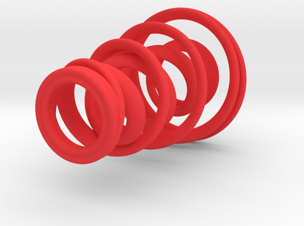 Spiral Candle Holder 3d printed