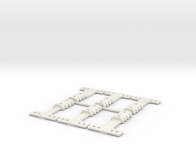 HM-RM 60 THK BLK in White Natural Versatile Plastic