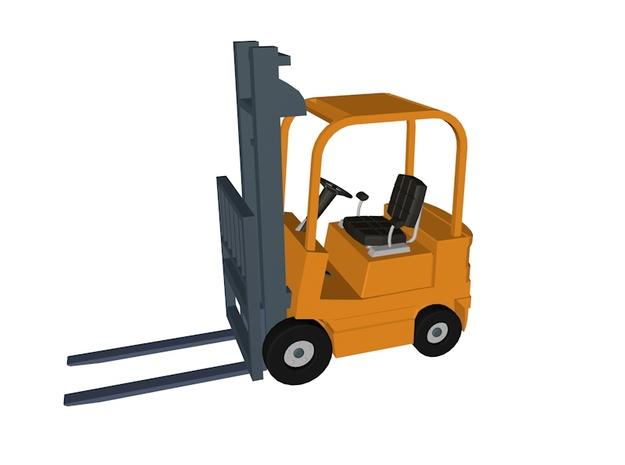 Forklift 2 3d printed