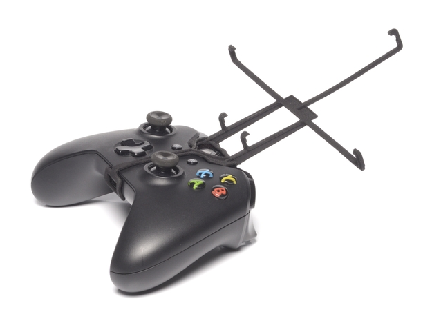 Xbox One controller & Apple iPad mini Wi-Fi + Cell 3d printed Without phone - A Nexus 7 and a black Xbox One controller
