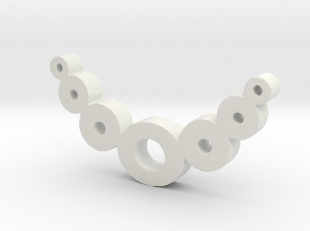 Zero Necklaces in White Natural Versatile Plastic