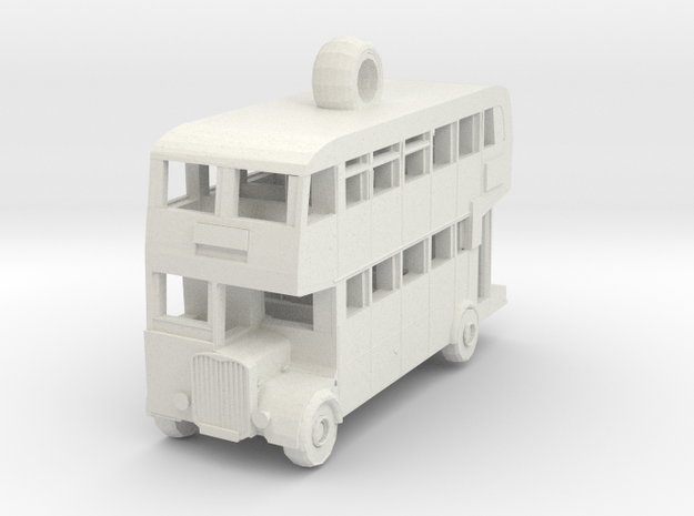 Double Decker Bus 3d printed