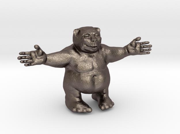Huggy bear in Stainless Steel