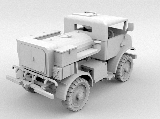 Chevrolet CMP C15 Water Tanker(O/1:48 Scale) 3d printed