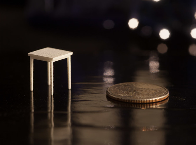 1:48 Square Table 3d printed