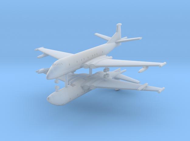 1/700 Hawker Siddeley Nimrod (x2) in Smooth Fine Detail Plastic