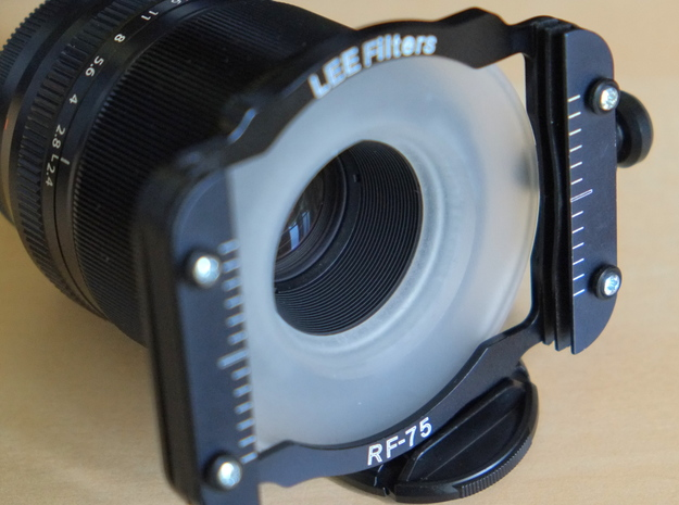Filter Adapter for Fujinon 60mm lens in Frosted Ultra Detail