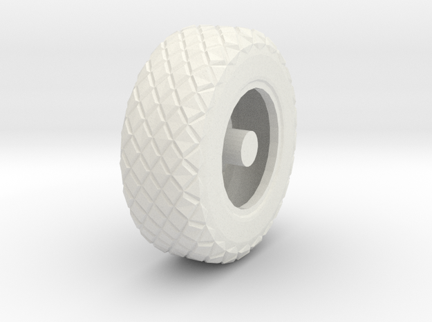XR311 wheel in 1:56 in White Natural Versatile Plastic