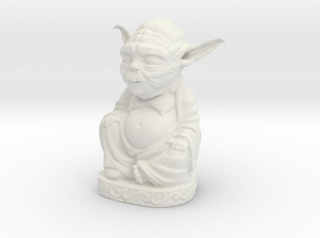 Yoddha in White Natural Versatile Plastic
