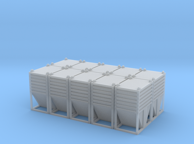 Dolomite Container Set - HOscale in Smooth Fine Detail Plastic