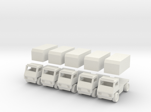 Civilian truck [ 5 Pack ] 3d printed