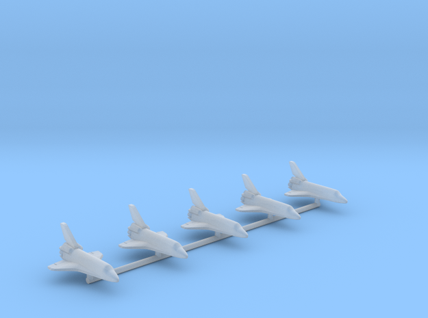 1/2500 NASA Orbiter Fleet (Printed) in Smooth Fine Detail Plastic