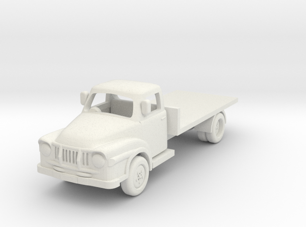 1:64 J2 Bedford in White Natural Versatile Plastic