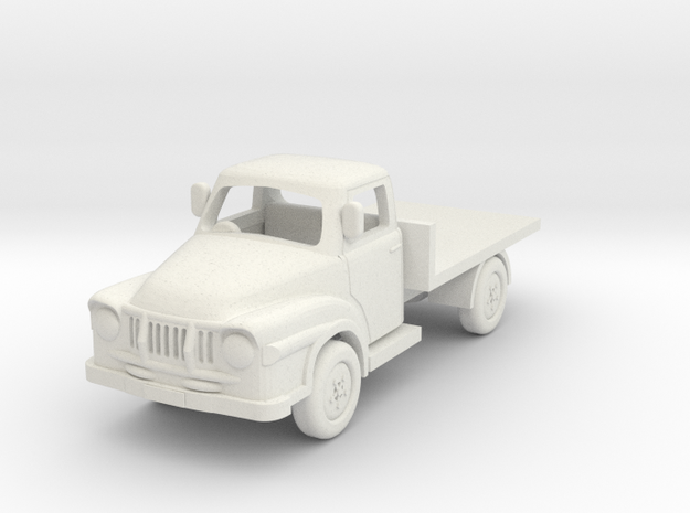 1:87 J1 Bedford in White Natural Versatile Plastic