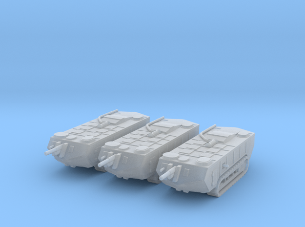 1/200 Saint-Chamond tanks (3) in Frosted Ultra Detail