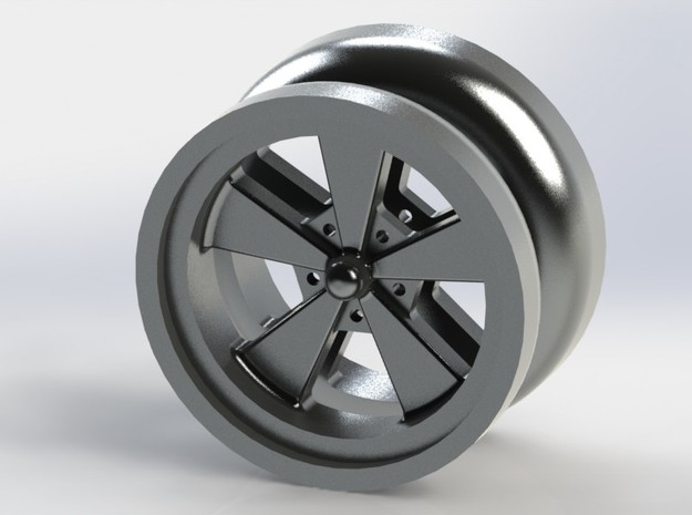 Crager style YoYo Lite in Polished Metallic Plastic