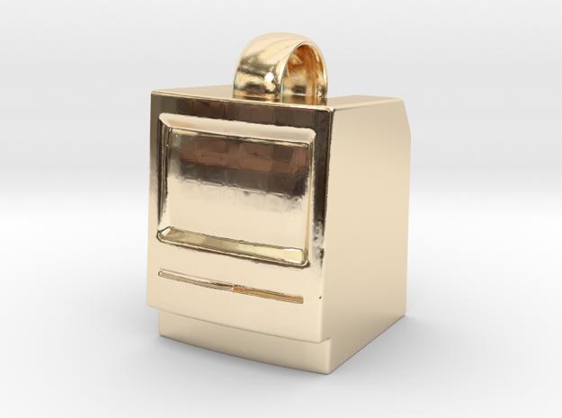 Macintosh SE/Plus Keychain item [25mm] 3d printed