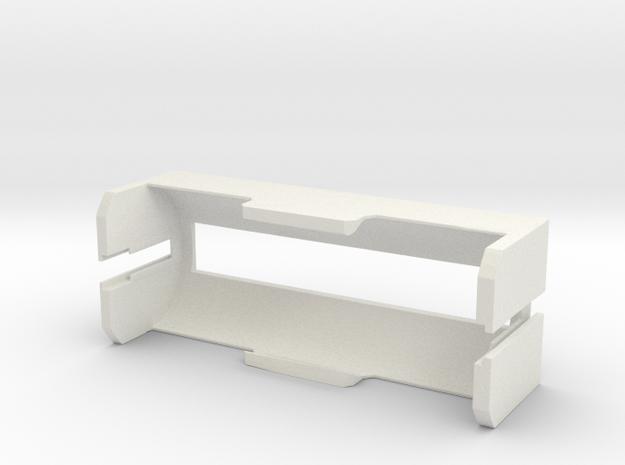 26650 Battery Holder V1 in White Natural Versatile Plastic