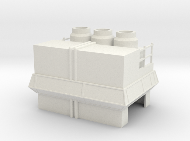 Factory in White Strong & Flexible