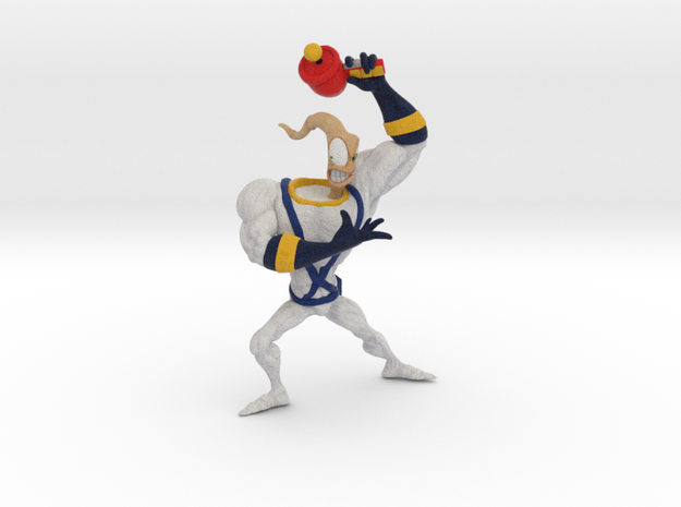 Earthworm Jim in Full Color Sandstone