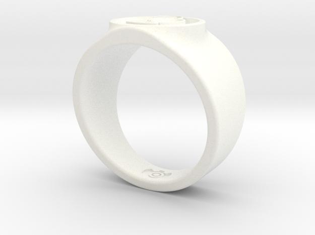 Alan Scott GL Ring Sz 14 3d printed