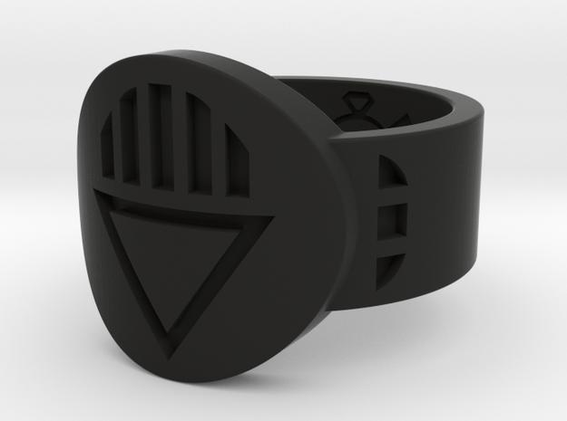 Death FF Ring (Sz's 5-15) in Black Natural Versatile Plastic
