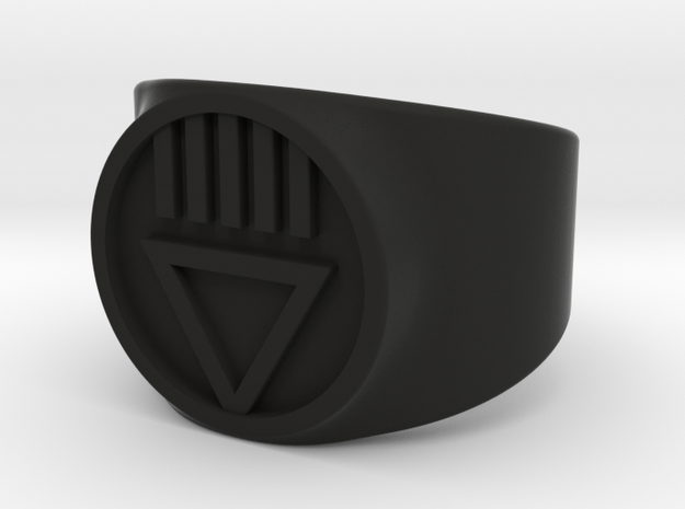 Black Death GL Ver 2 Ring Sz 6 3d printed
