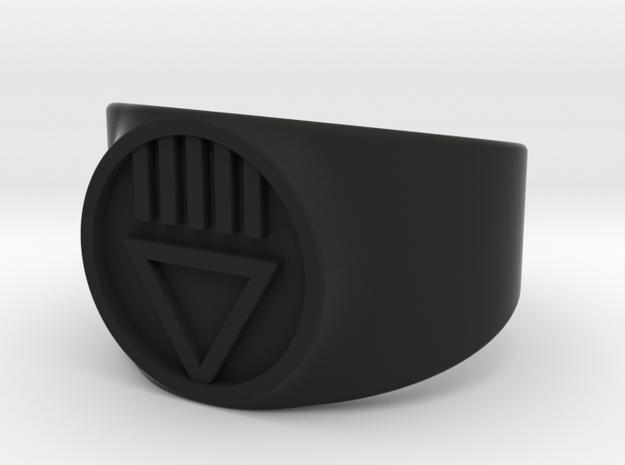 Black Death GL Ver 2 Ring Sz 10 3d printed