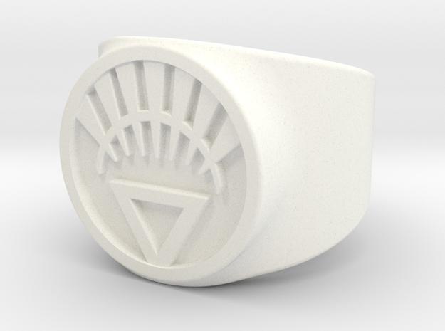 White Life Ver 2 GL Ring Sz 5 3d printed