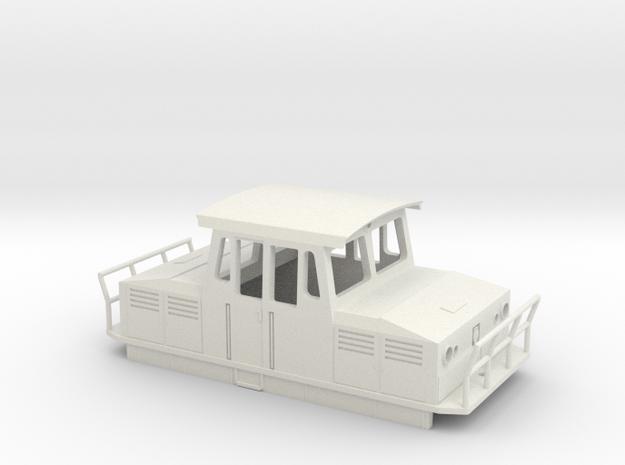 UBL Wiener Linien U-Bahn Hilfsfahrzeug in White Natural Versatile Plastic