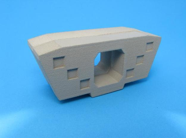 HO/1:87 Precast concrete bridge segment fill (smal 3d printed assembled & painted (small)