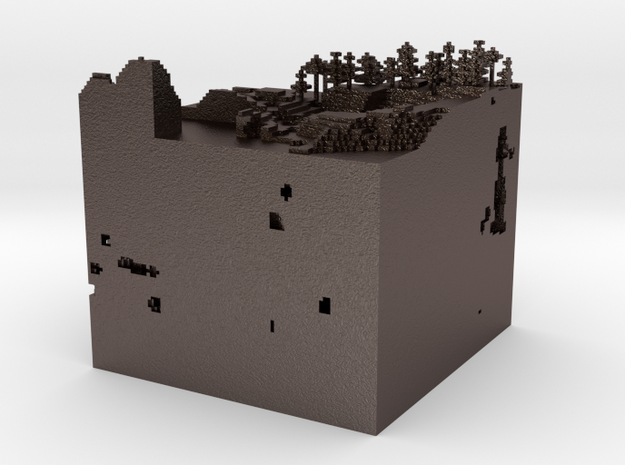 Slice Of Minecraft.obj 3d printed