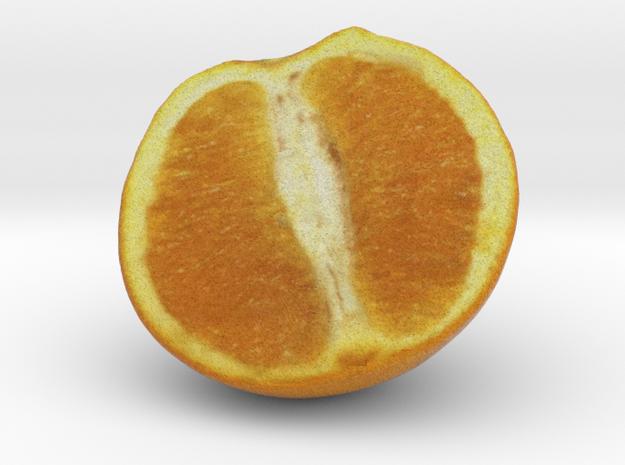 The Orange-2-Half in Full Color Sandstone