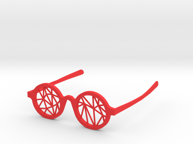DATA IN EXILE — Parallax Glasses 3d printed