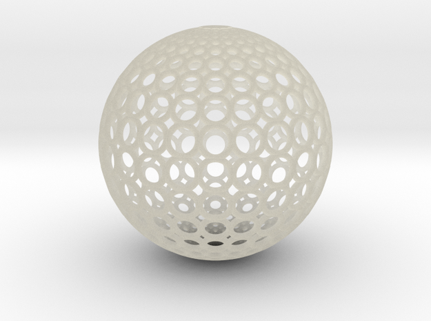 Gradient Ring Ball 【Size-XXL】 3d printed The rendered image may not match the product you have ordered exactly.