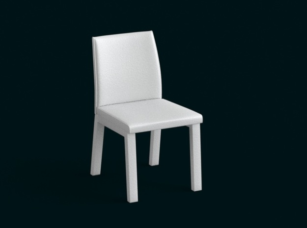 1:39 Scale Model - Chair 05 in White Natural Versatile Plastic