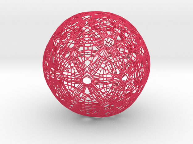 Soccer ball Abstract 3d printed