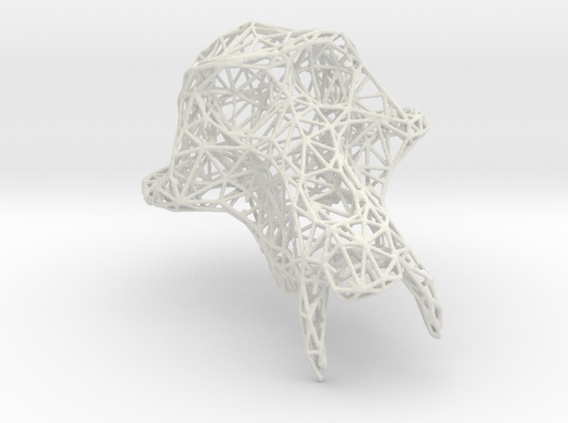 PetitSinge Wireframe in White Strong & Flexible