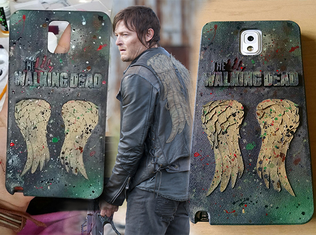 Twd Note 3 Case in White Natural Versatile Plastic