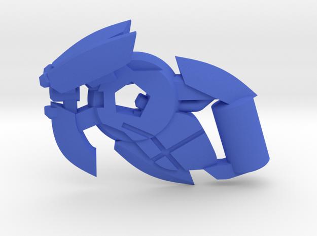 Plasma Suppressor  in Blue Processed Versatile Plastic