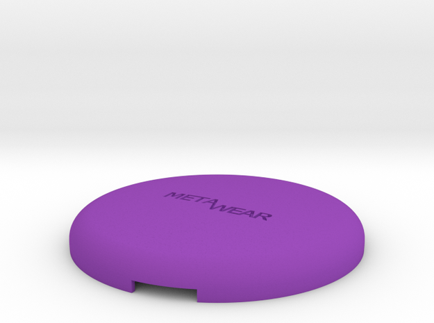 MetaWear USB Round Upper 915 in Purple Strong & Flexible Polished