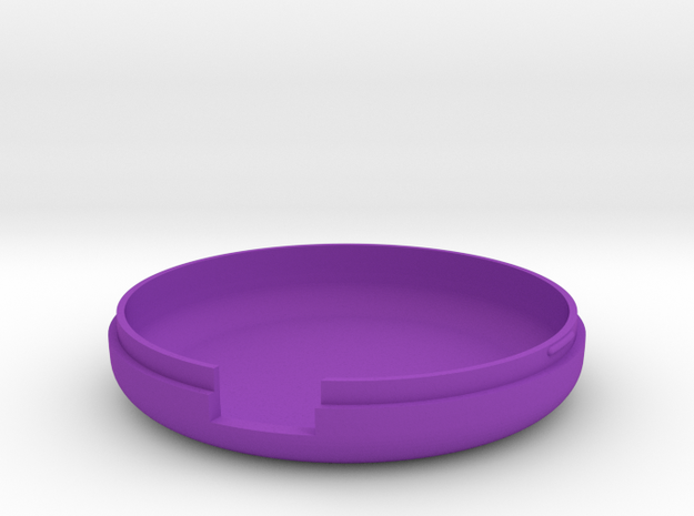 MetaWear USB Round Lower 915 in Purple Strong & Flexible Polished