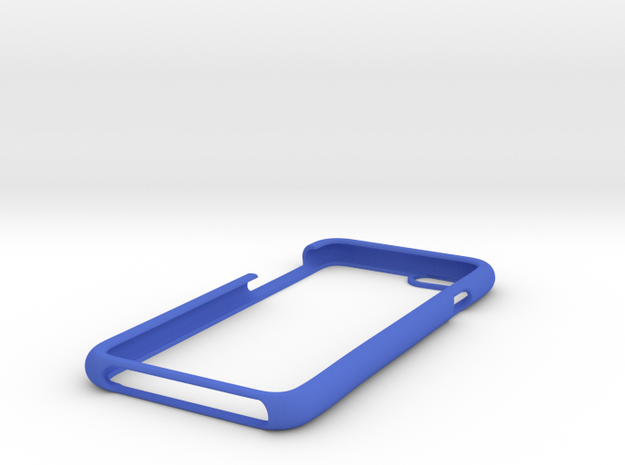 IPhone 6 Shell  in Blue Processed Versatile Plastic