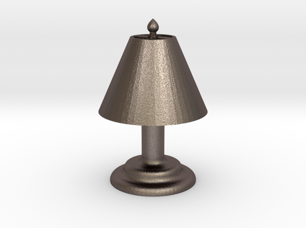 "Desk Lamp 1.4"" tall. in Stainless Steel"
