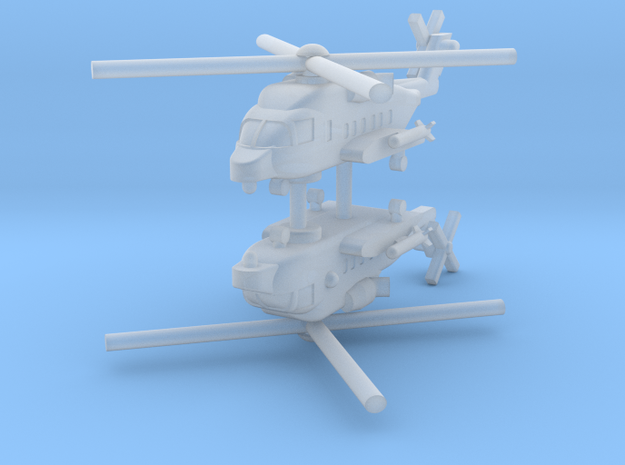 1/700 CH-148 Cyclone (x2) in Smooth Fine Detail Plastic